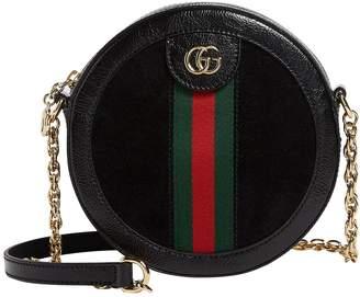 Gucci Mini Round Ophidia Shoulder Bag