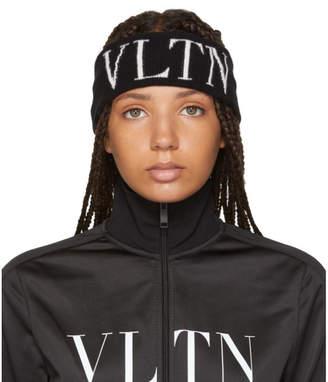 Valentino Black Garavani VLTN Headband