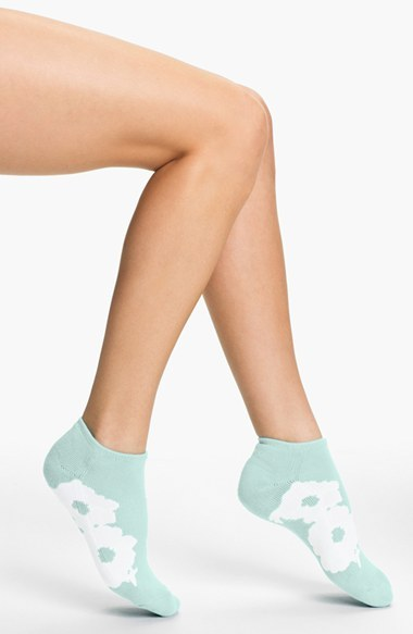 Kate Spade 'picnic Floral' Ped Socks
