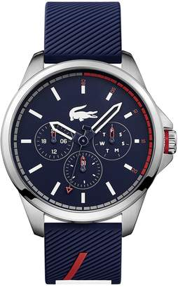 Lacoste Men's Capbreton Multifunctions Watch with Blue Silicone Strap