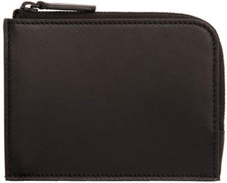 Common Projects Black Zipper Wallet