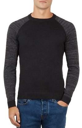 Ted Baker Cornfed Space-Dye Crewneck Sweater