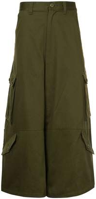 Kidill cropped cargo trousers