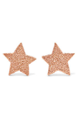 Carolina Bucci 18-karat Rose Gold Earrings
