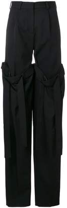 Y/Project Y / Project detachable layered trousers