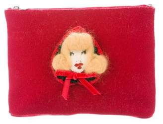 Charlotte Olympia Little Red Riding Hood Clutch