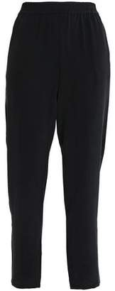 Joie Cropped Silk Tapered Pants