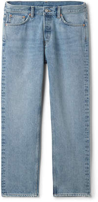 Weekday Vacant Wow Blue Jeans - Blue
