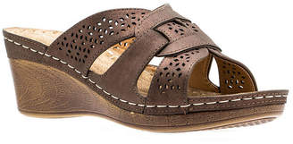 GC SHOES GC Shoes Womens Odelia Wedge Sandals