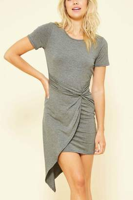 Factory Unknown Capped Sleeve Dress