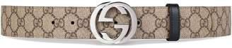 Gucci Reversible GG Supreme belt