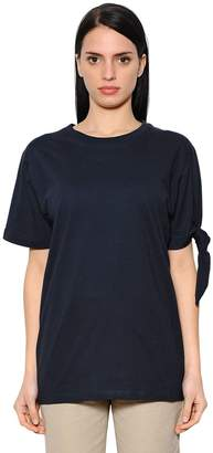 J.W.Anderson Oversize Knotted Cotton Jersey T-Shirt