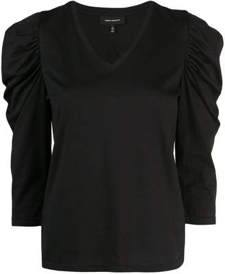 Robert Rodriguez Studio Jolie crinkled sleeves T-shirt