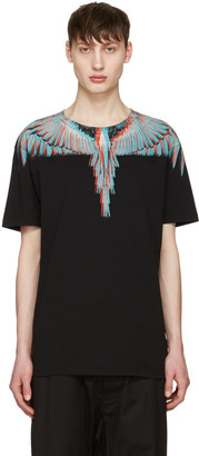 Marcelo Burlon County of Milan Black Salvador T-Shirt $235 thestylecure.com