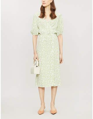 Faithfull The Brand Marta floral-print rayon midi dress
