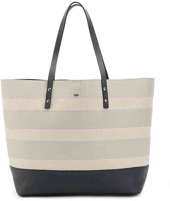 Cole Haan  Women's Beckett Leather Tote -Grey