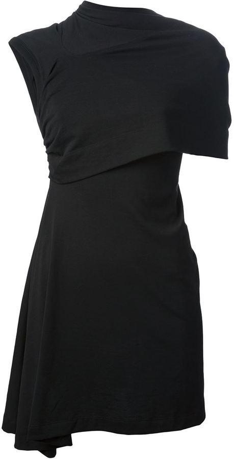 Rick Owens 'Caped Toga' dress