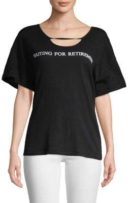 Wildfox Couture Waiting For Retirement T-Shirt