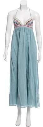 Mara Hoffman Halter Maxi Dress