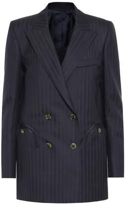 BLAZÉ MILANO Everyday striped wool blazer