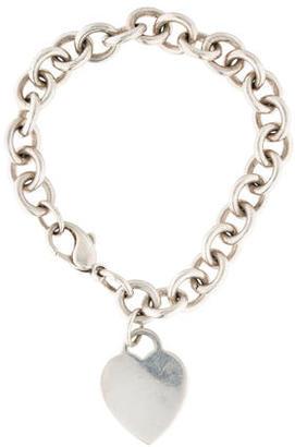 Tiffany & Co. Heart Tag Bracelet $125 thestylecure.com