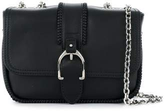 Longchamp buckled cross body bag