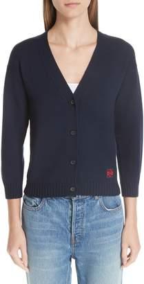 Loewe Wool Logo Cardigan