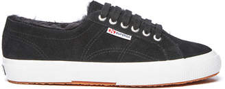 Superga Fur Lined Lace Up Sneaker
