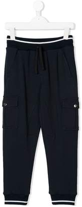 Dolce & Gabbana bellow pockets drawstring sweatpants