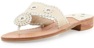 Jack Rogers Palm Beach Whipstitch Thong Sandal