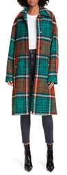 La DoubleJ Boxy Plaid Coat