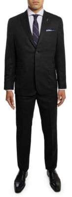 Michael Bastian Peak Lapel Slim-Fit Wool Suit