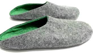 "Felt Forma Organic Wool Clogs ""Treetop"""