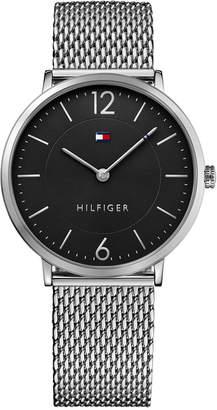 Tommy Hilfiger Men's Slim Sophisticated Sport Stainless Steel Mesh Bracelet Watch 40mm 1710355