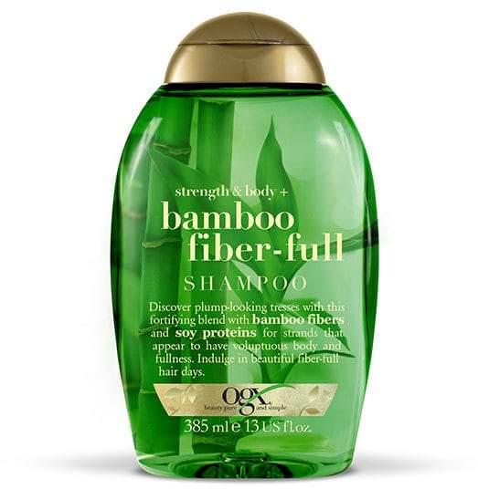 OGX Strength & Body + Bamboo Fiber-Full Shampoo 385ml