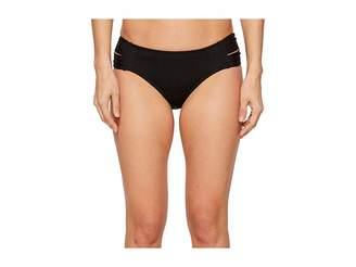 Athena Fine Line Double Side Tab Hipster Bikini Bottom
