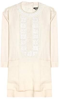 Isabel Marant Phoenix embroidered linen dress