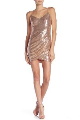 Just Me Sequin Slip Mini Dress