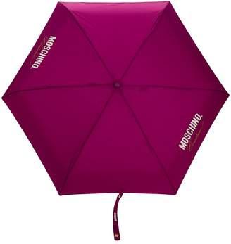 Moschino print umbrella