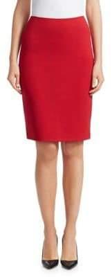 Emporio Armani Stretch Jersey Pencil Skirt