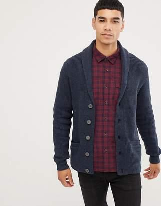Esprit shawl collar chunky cardigan