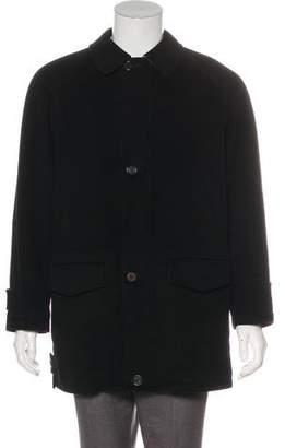 Burberry Wool & Cashmere Car Coat