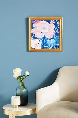 Artfully Walls Blue Floral Wall Art