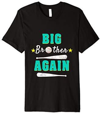 Big Brother Again Gift T-shirt For Baseball Lovers