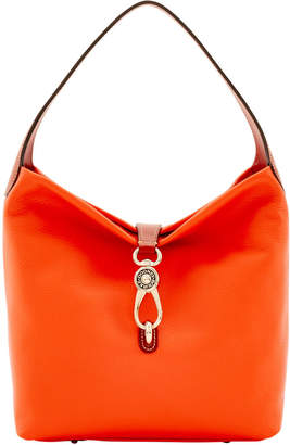 Dooney & Bourke Calf Small Logo Lock Sac