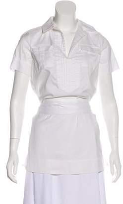 Diane von Furstenberg Short Sleeve V-Neck Tunic