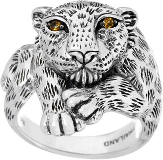Jai JAI Sterling Silver Leopard Ring