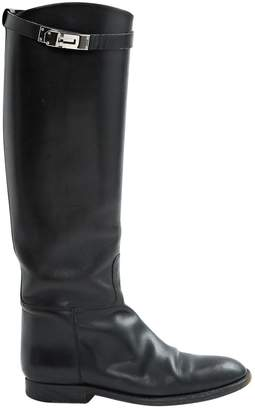 Hermes Jumping Leather Boots