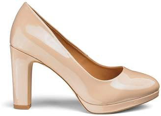 6c3978a9d3a43 Next Womens Simply Be Wide Fit Court Shoes