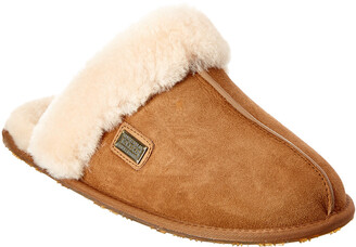 Australia Luxe Collective Women's Suede Closed Mule Slipper